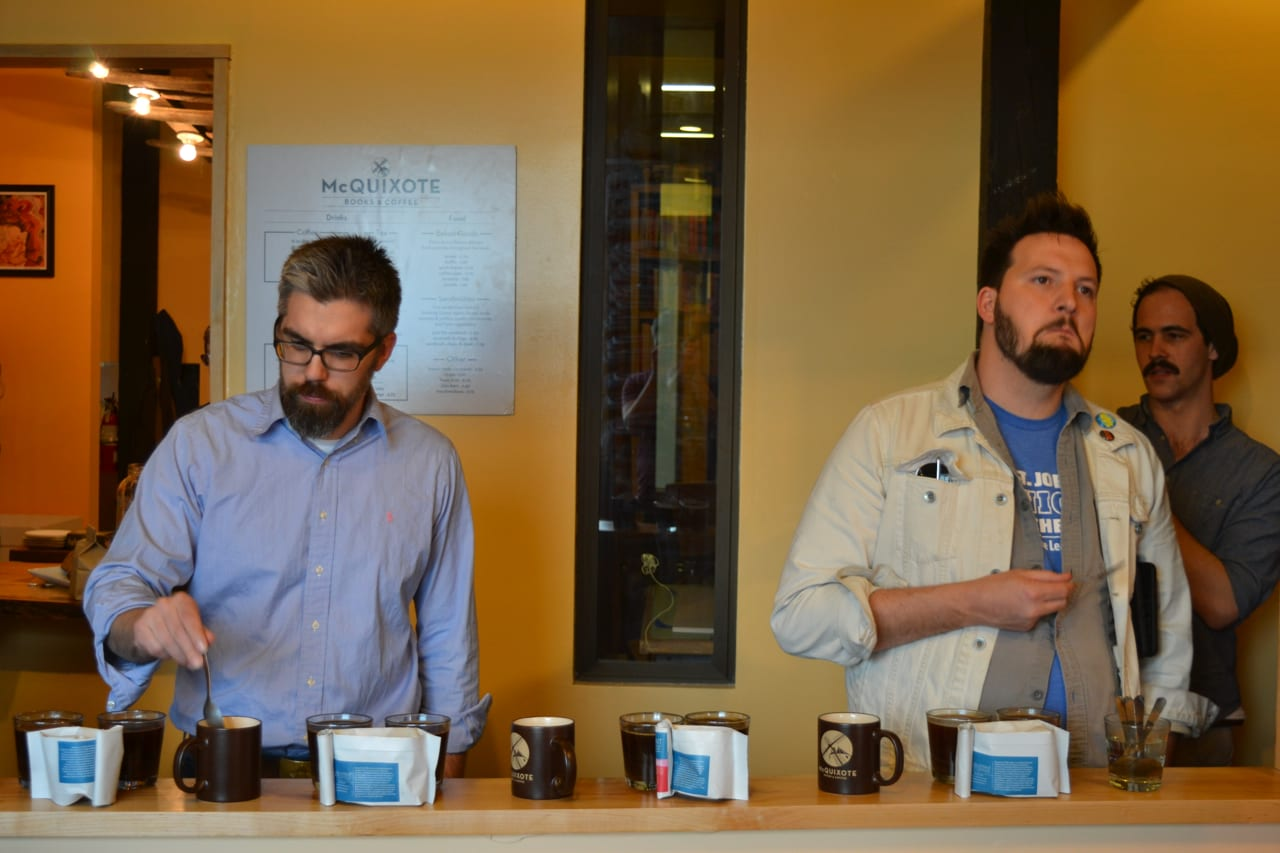 Cupping with blueprint coffee the coffee compass blueprint coffee malvernweather Gallery