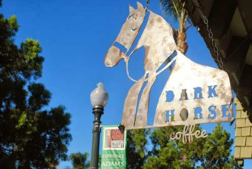 Dark Horse Coffee in San Diego