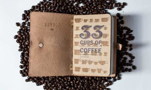 bradley mountain coffee tennyson notebook 33books