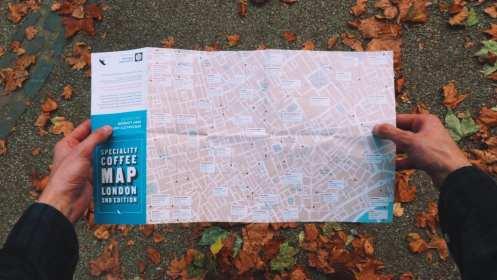 London Coffee Map