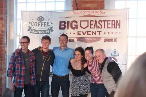 Big Eastern Barista 2014 finalists