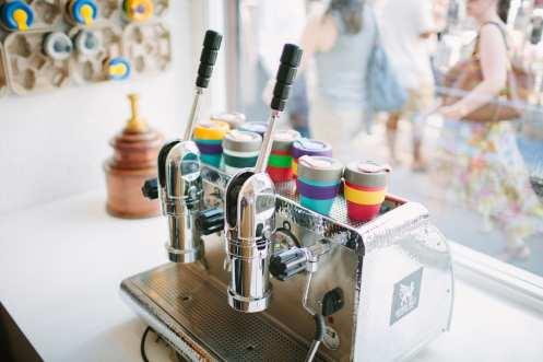 Prufrock Coffee lever machine
