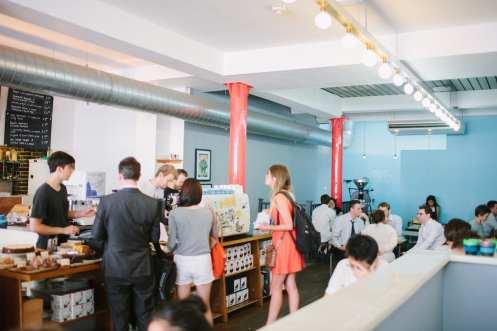 Prufrock Coffee interior