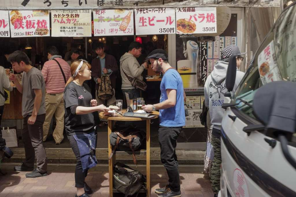 Cabell Tice in Tokyo