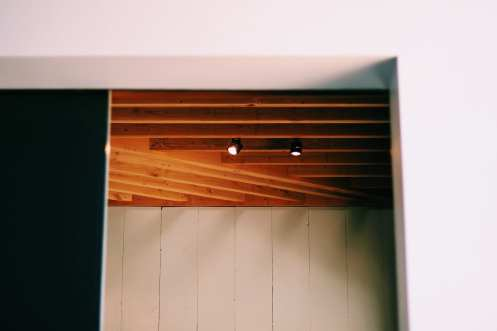 Blacktop Coffee Wood Ceiling 2