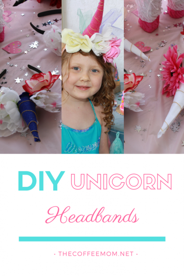 Simple DIY Unicorn Headbands