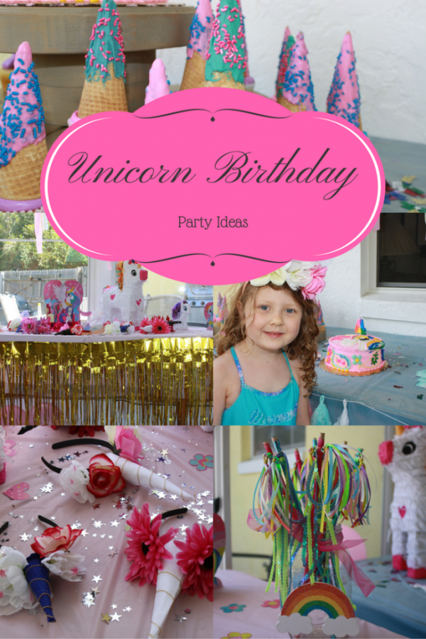 How to throw a magical unicorn birthday party