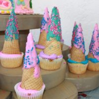 Simple and Magical Unicorn Cupcakes