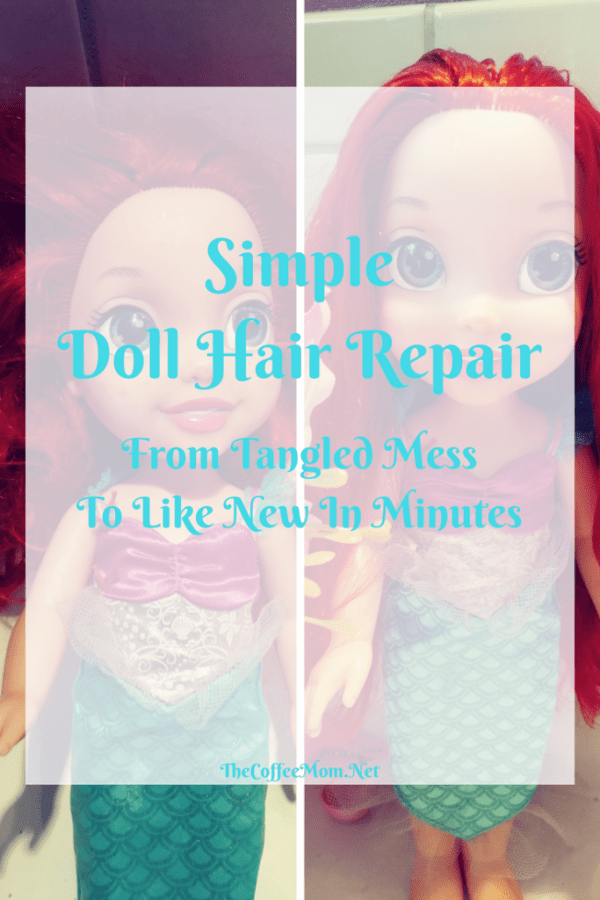 The simple doll hair repair trick that will have her looking like new!
