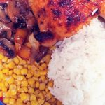 Baked Chicken Quarters with Veggies