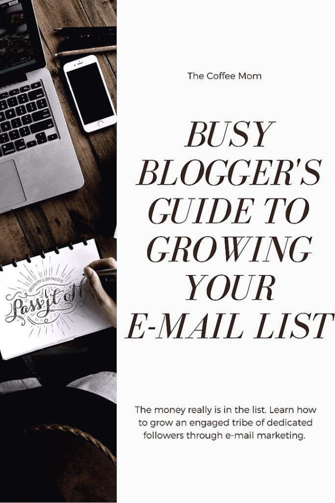Tried and true ways for bloggers to grow their email list
