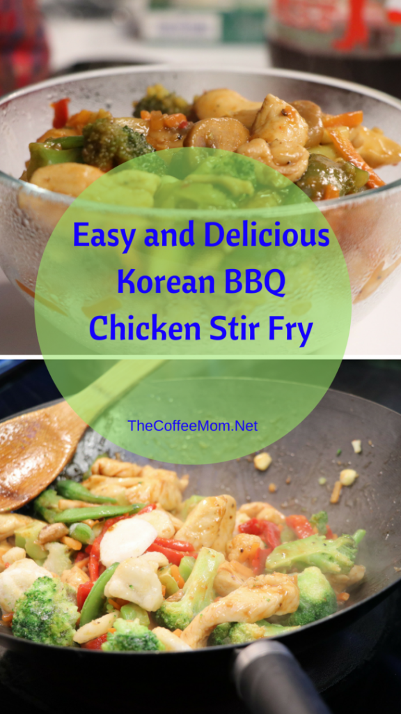 Easy and Delicious Korean BBQ Chicken Stir Fry