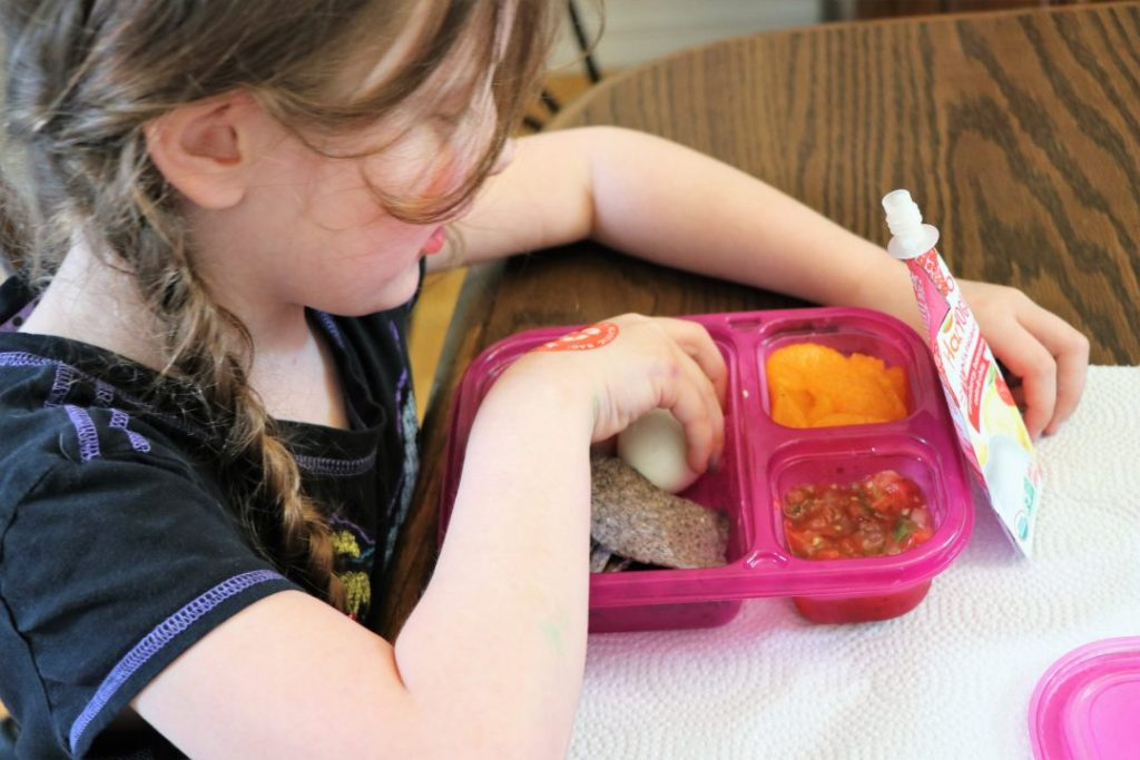 Healthy School Lunch Ideas #ad #HappyBellies