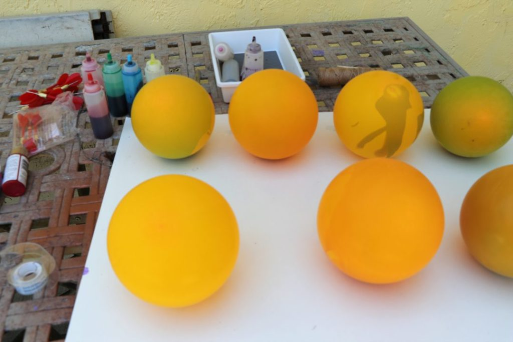 balloon paint pop