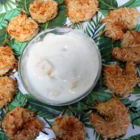 baked coconut shrimp and red lobster pina colada shrimp sauce