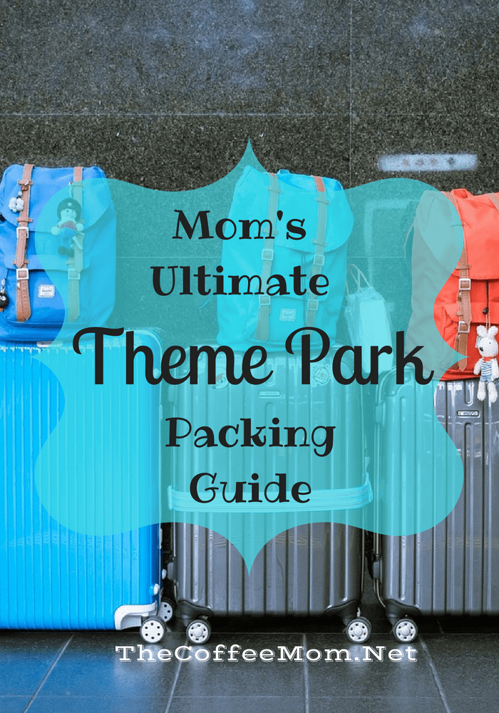 Mom's Ultimate Theme Park Packing Guide. No matter if you are going to Disney World, Legoland, Universal or any number of theme parks, there are a few things that you should always bring with you! This theme park packing list has everything you need to be the most prepared mom in the park. #DisneyWorld #ThemePark #MomLife