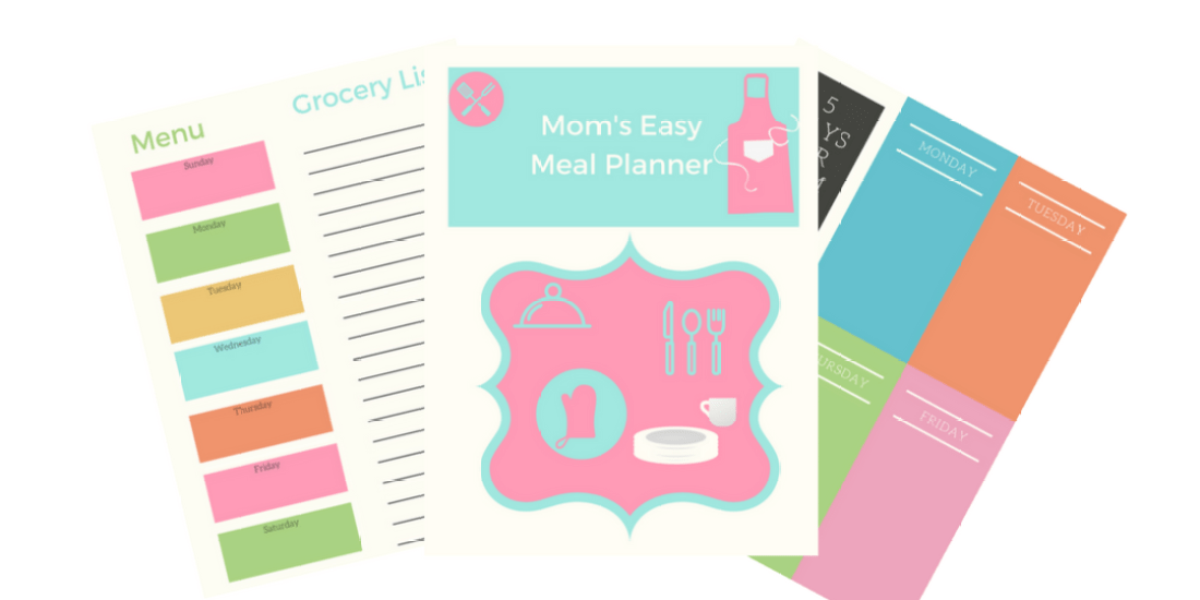 Lazy Mom's Guide To Easy Meal Planning