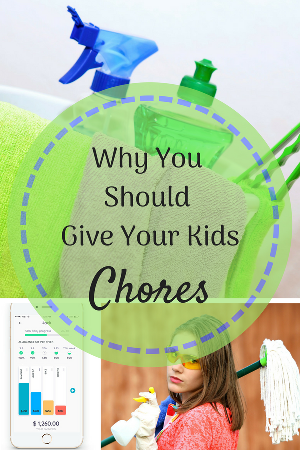 Why You Should Give Your Kids Chores . Age appropriate chores are a beneficial part of childhood. They teach responsibility and teach kids how they can earn money through hard work. #ad #KidsChores #AgeAppropriateChores #Homey