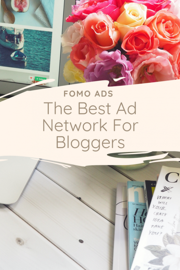Fomo Ads. The best ad network for bloggers to make money from ad revenu