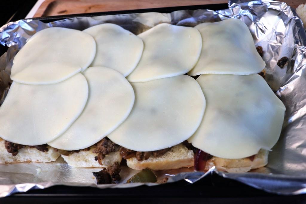 Turkey Philly Cheese Steak