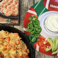 Blackened Shrimp Nachos. Perfect or an Easy Game Day Appetizer