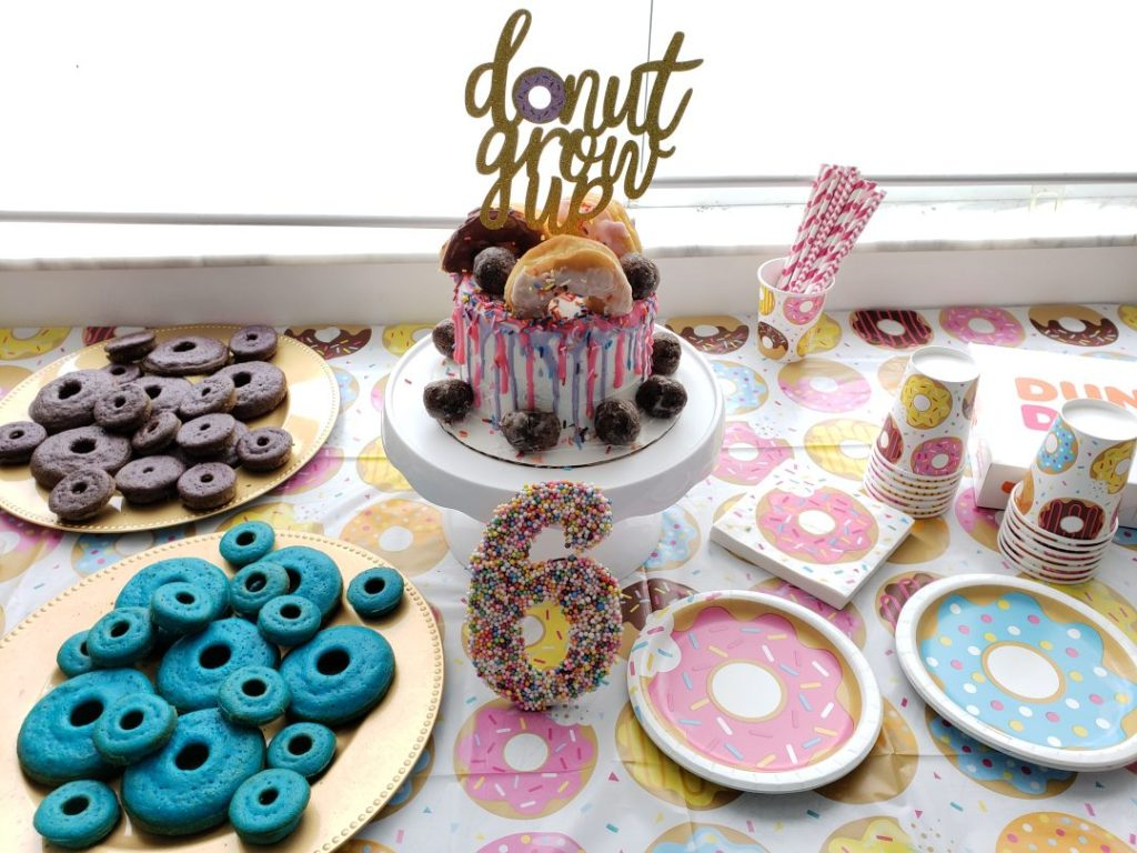 sweet donut party