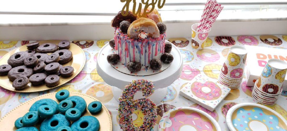How to Throw a Super Sweet Donut Birthday Party