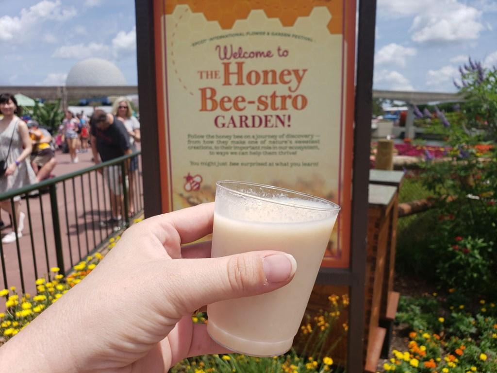 honey beestro Epcot flower and garden
