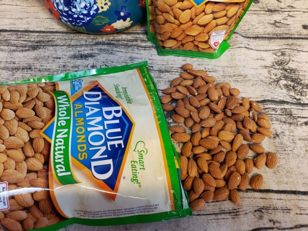 Whole Natural Almonds at Walmart