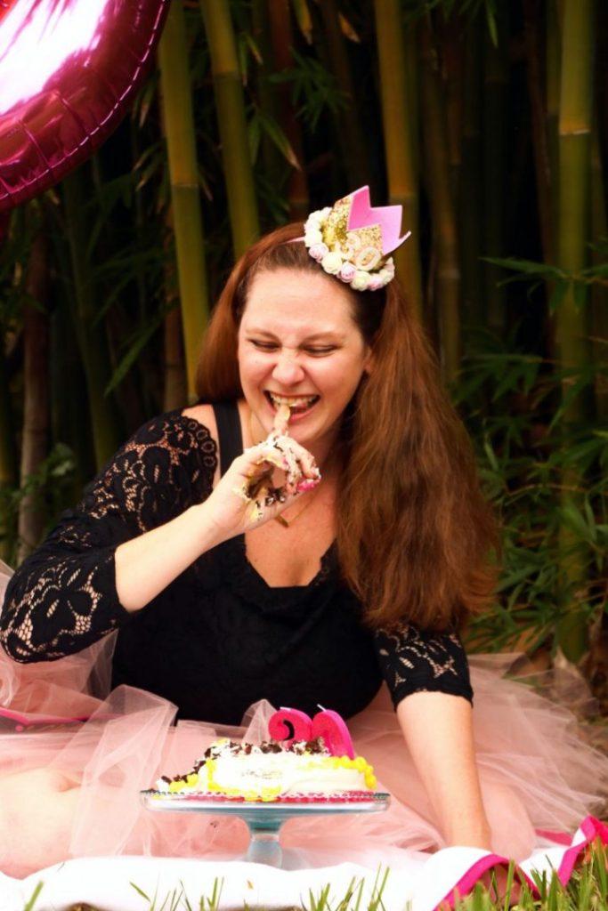 30th birthday smash cake
