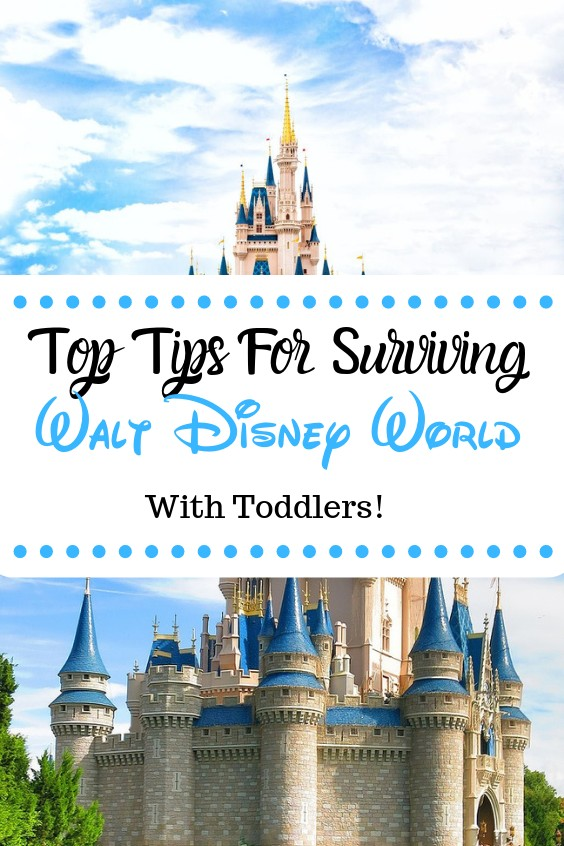 Tips for surviving Disney World with Toddlers