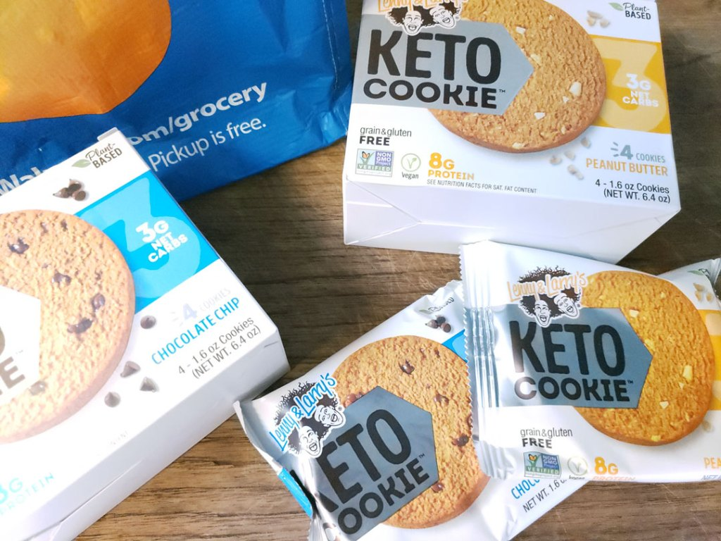 Lenny & Larry's Keto Cookie™, My Go To Grab and Go Keto Cookies