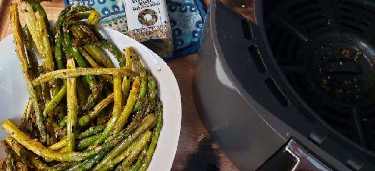Everything But The Air Fryer Asparagus