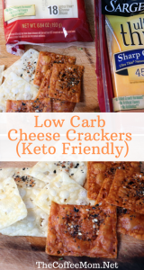 Just because you are eating low carb, doesn't mean you need to sacrifice your snacks! These keto cheese crackers are made with only 2 ingredients, super simple, delicious, and best of all, a keto-friendly snack that everyone will love!