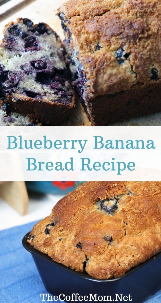 Overripe bananas taking up space on your countertop? This blueberry banana bread recipe will make sure they don't go to waste! This is a just sweet enough twist on the classic banana bread that is packed full of blueberries. It is a perfect breakfast, snack, or dessert, and can even be easily frozen to save for later!
