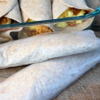 low carb make ahead breakfast burritos