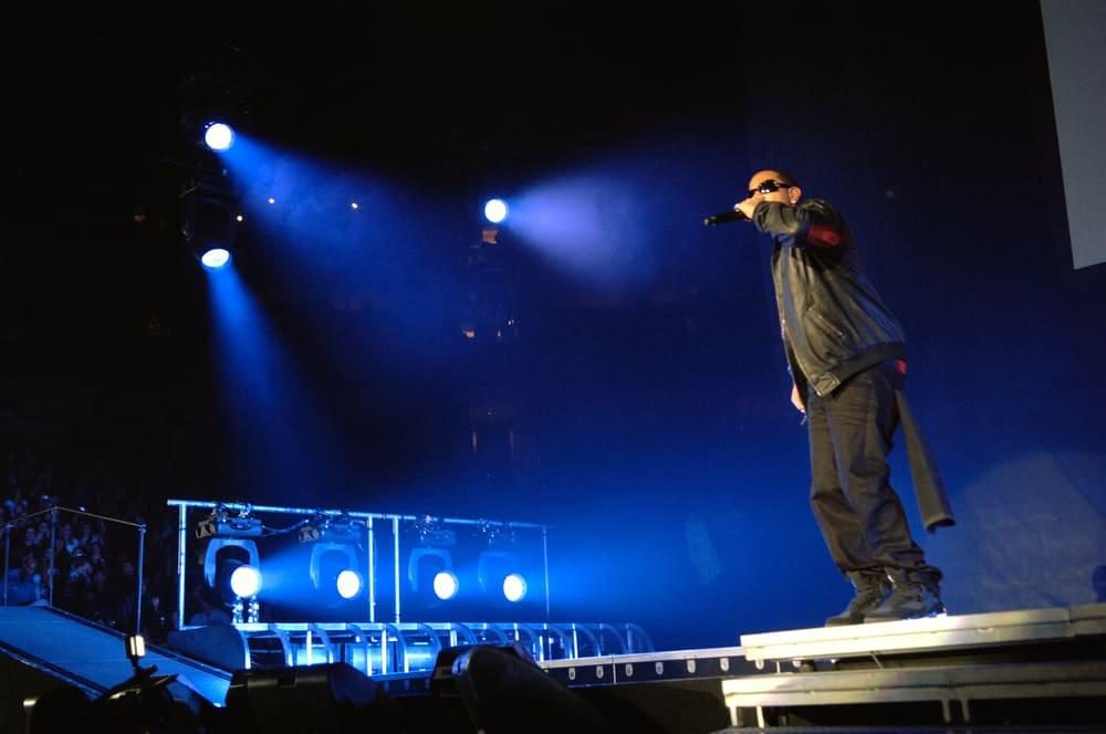 Rapper Ludacris performs in concert