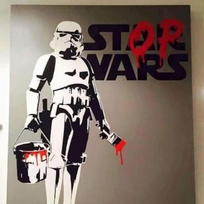 banksy stop wars