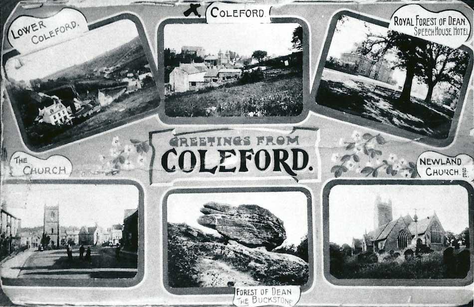 Coleford Postcard