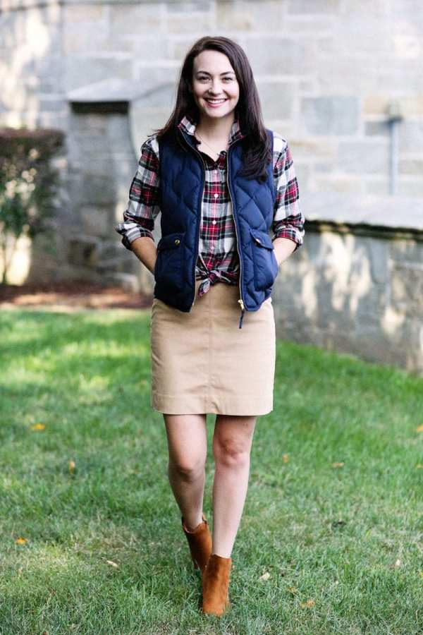 f5eaa908a6 Preppy Fall Outfit - Year of Clean Water