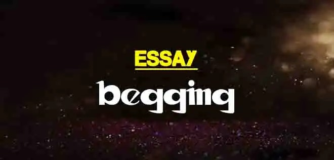 Essay on begging in pakistan cover letter testing