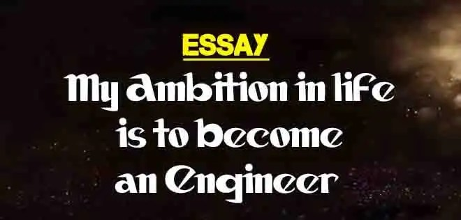Essay on ambition in life