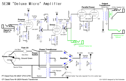 small resolution of deluxe reverb wiring diagram