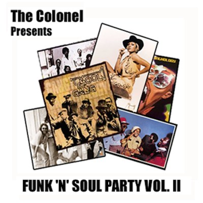 The Colonel 'Funk 'n' Soul Party Vol. II' cover art.