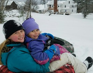 Sledding, snow shoeing, skating and more!