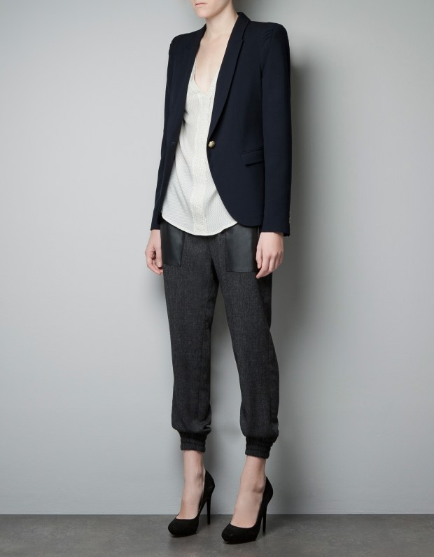 zara-navy-single-button-blazer-thecolorharmony