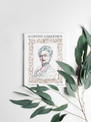 The Covent Gardener magazine cover proposal