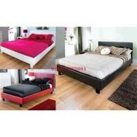 Prado Leather Bed