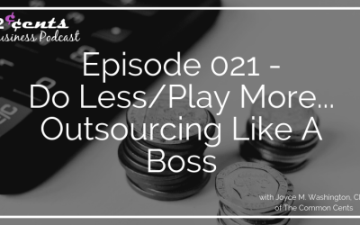 Episode 021 – Do Less/Play More…Outsourcing Like A Boss