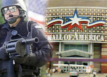 "Malls, the ""new"" FEMA camps."